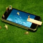 iphoneは、楽々育児を支える強い味方