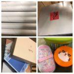 子どもの成長を感じるラップの芯と箱の山ー9月の100個捨てチャレンジ7